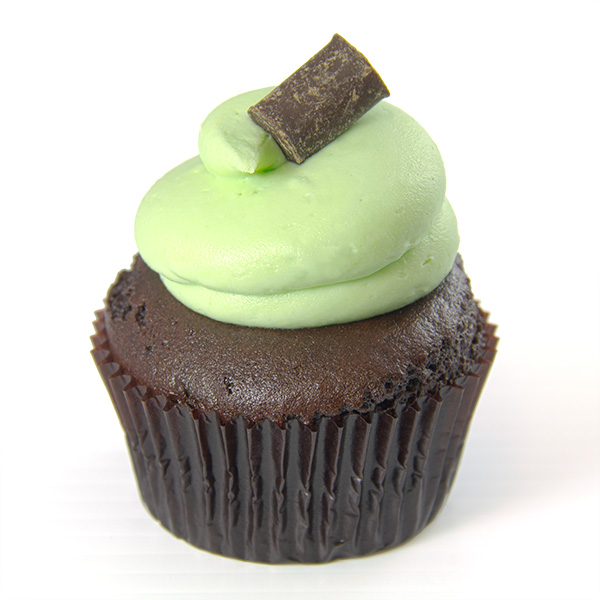Portions Chocolate Mint Cupcake