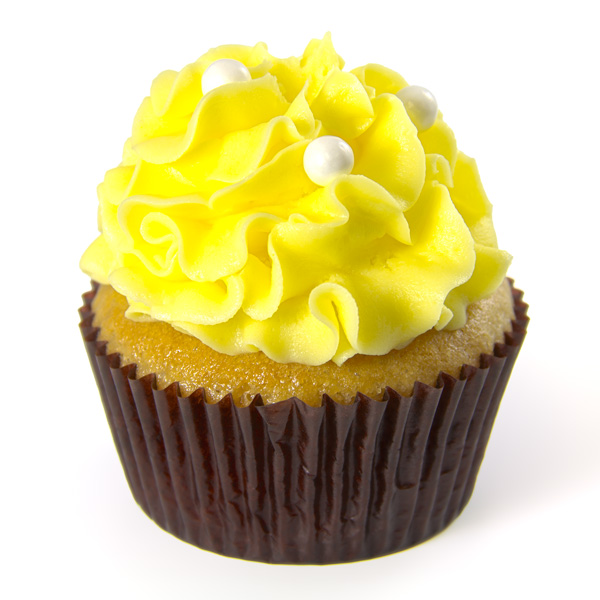Portions Lemon Cupcake