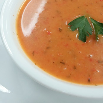 Red Pepper Thai Soup