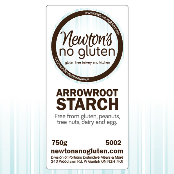 Newton's No Gluten Arrowroot Starch