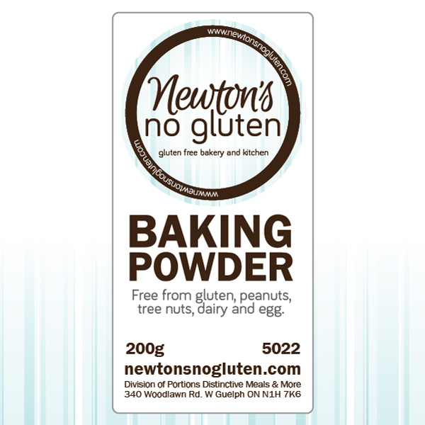 Newton's No Gluten Baking Powder