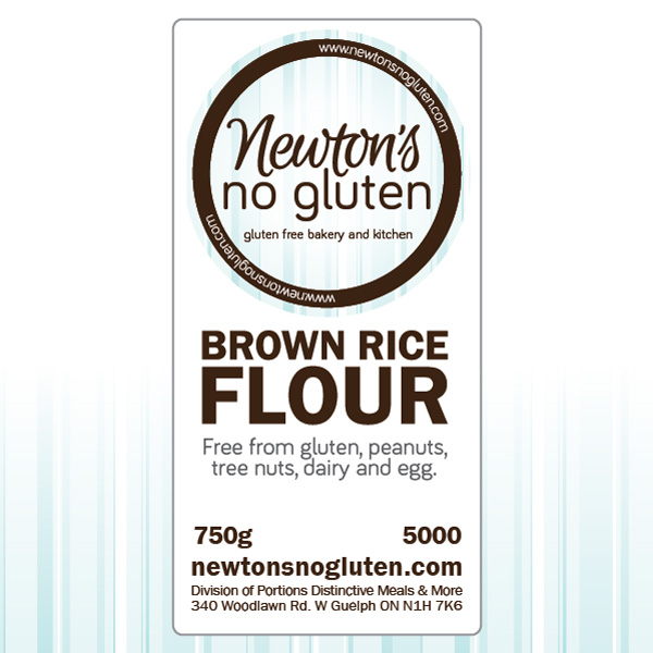 Newton's No Gluten Brown Rice Flour