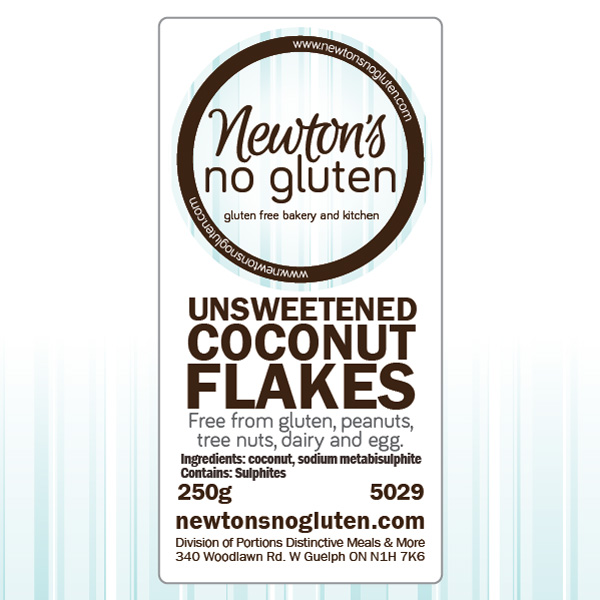 Newton's No Gluten Coconut Flakes