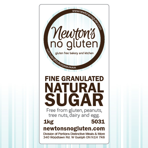 Newton's No Gluten Natural Sugar