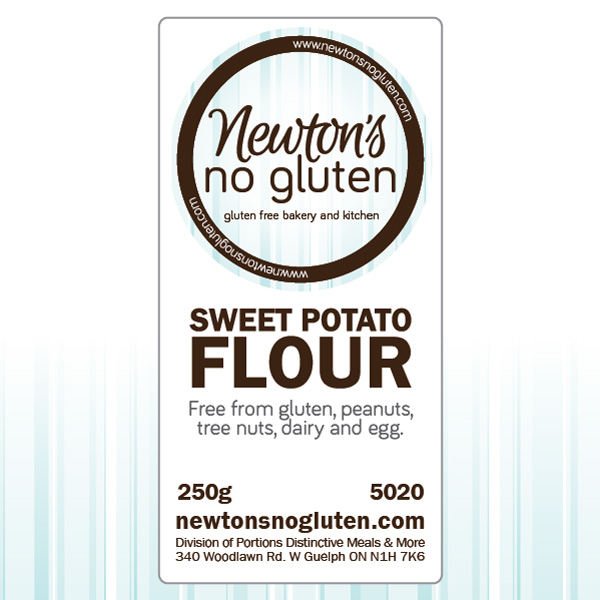Newton's No Gluten Sweet Potato Flour