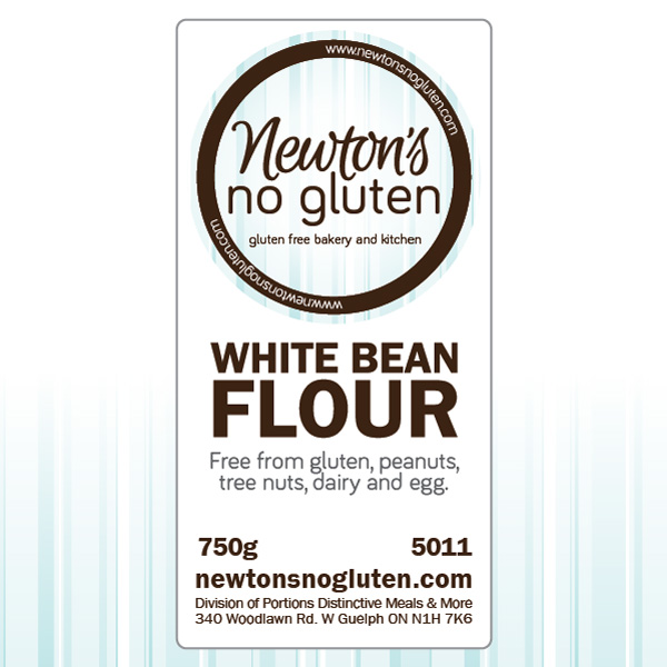 Newton's No Gluten White Bean Flour