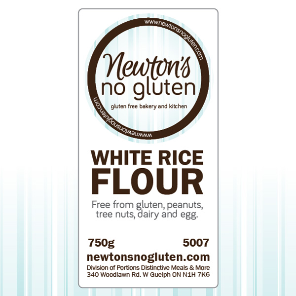 Newton's No Gluten White Rice Flour